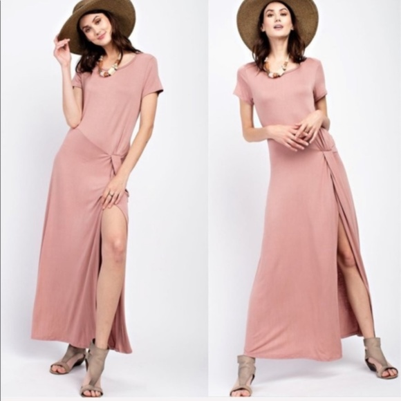 October Love Dresses & Skirts - October Love* Gorgeous Pink Maxi Dress NWT!!